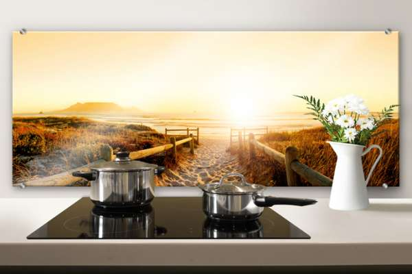 "Скинали Optiwhite ""Sunset at the Beach  Panorama"""